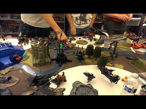Warhammer 40k 64,000 pt Apocalypse - Fires of Sidonia Finale