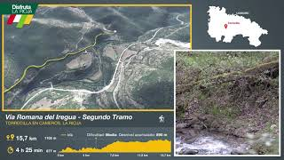 Segundo tramo de la Vía Romana del Iregua, Torrecilla en Cameros. Disfruta La Rioja