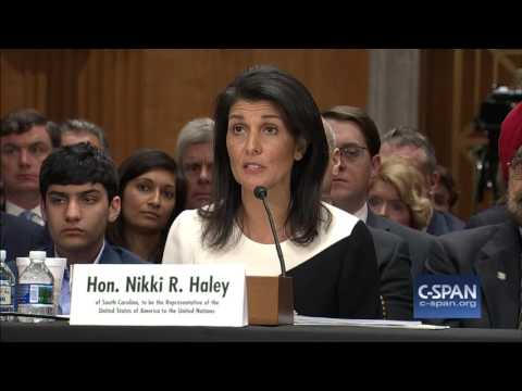 UN Ambassador Nominee Nikki Haley Opening Statement (C-SPAN)
