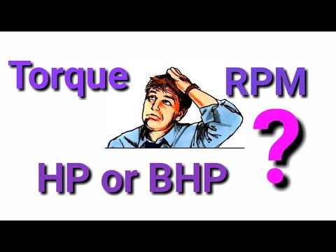 What is Horse power | HP |Torque | RPM | BHP | Techchat India | Rajeev bhagat