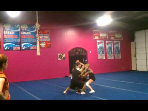 Stallion allstars Jose Martinez basket kick double