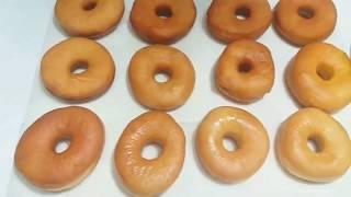 Пончики Донатсы. ЭКСПЕРИМЕНТ!!! Жаренные и в духовке! КАК ВКУСНЕЕ??????