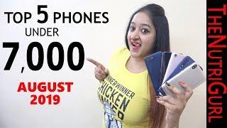 Top 5 Phones Under 7000 in AUGUST 2019