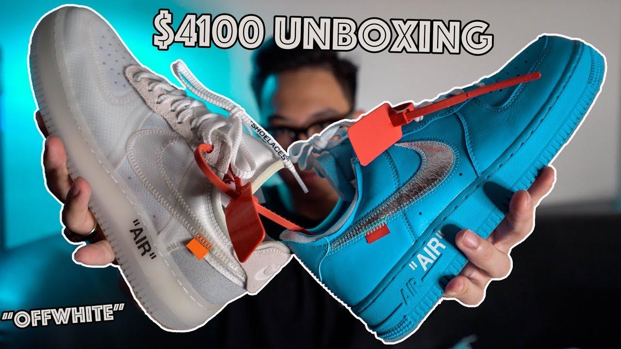 Unbox + Review 2 đôi giày OffWhite trị giá 100 triệu