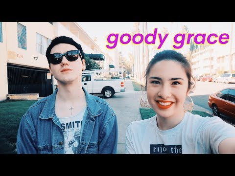 GOODY GRACE Interview- meeting Gnash + Jesse Rutherford, gf Sahar Luna, love, EP