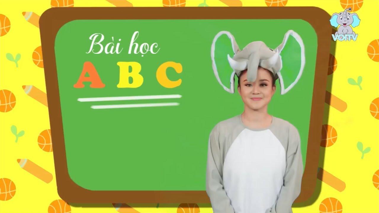 ABC Song – Bài hát ABC Tiếng Việt [ Full ] | Giúp Bé Học Chữ Cái Qua Bài hát | VOI TV