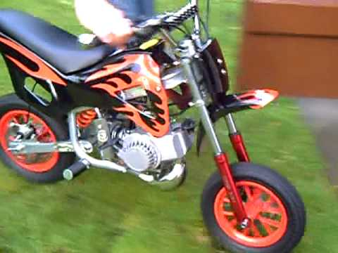 pocket bike cross 49cc youtube. Black Bedroom Furniture Sets. Home Design Ideas