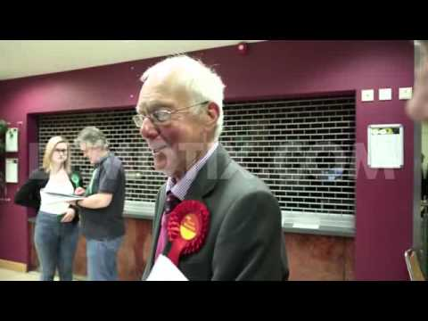 David Winnick wins Walsall North in the UK General Election