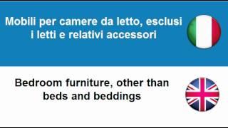 Imparare l'Inglese = Mobili per la casa