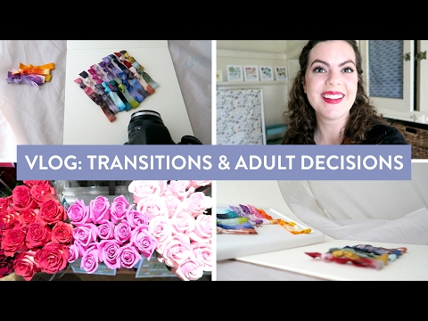 VLOG: Transitions and Adult Decisions | Creative Small Business Day in the Life