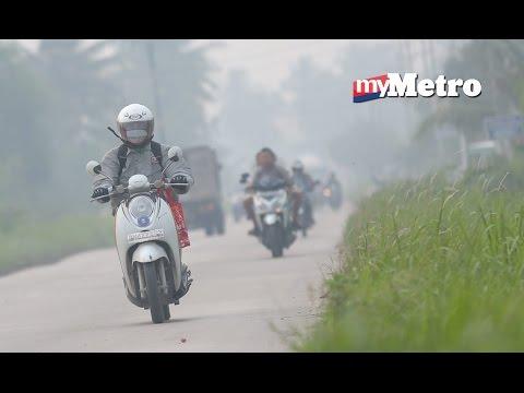 Rakyat Malaysia pulang ekoran jerebu teruk di Riau