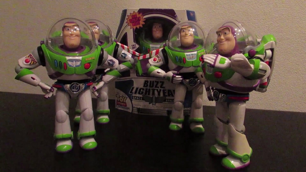 Toy Story Collection Buzz Lightyear With Utility Belt Figure Review