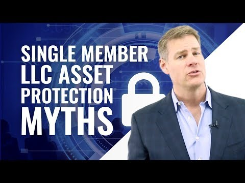 Single Member LLC Asset Protection Myths (Charging Order Protection FACTS)