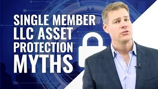Single Member LLC Asset Protection Myths (Charging Order Protection FACTS) Video