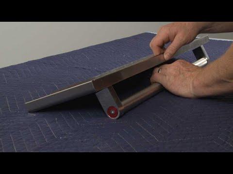 Door/Drawer Handle - Kitchenaid Electric Slide-In Range Model #KSEB900ESS2