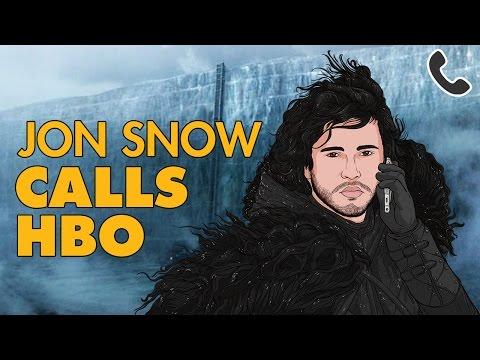 JON SNOW CALLS HBO PRANK CALL