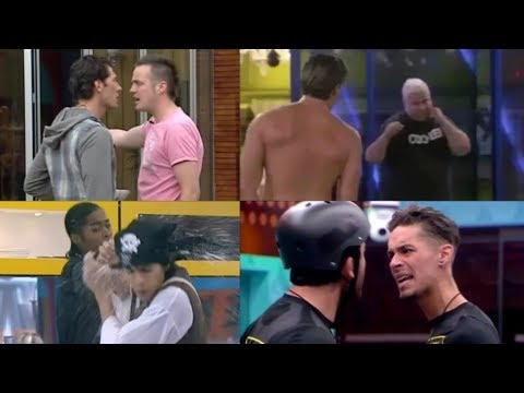Top 20 Big Brother UK Men Fights/Drama