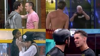Top 20 Big Brother UK Men Fights/Drama