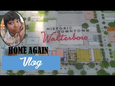 Home Again to Walterboro, SC + Visiting My Old High School | VLOG