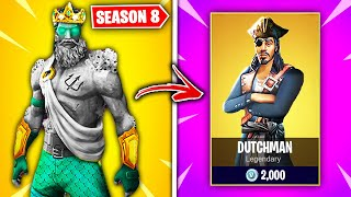 Top 10 Fortnite Season 8 Skins THAT NEED TO BE RELEASED!