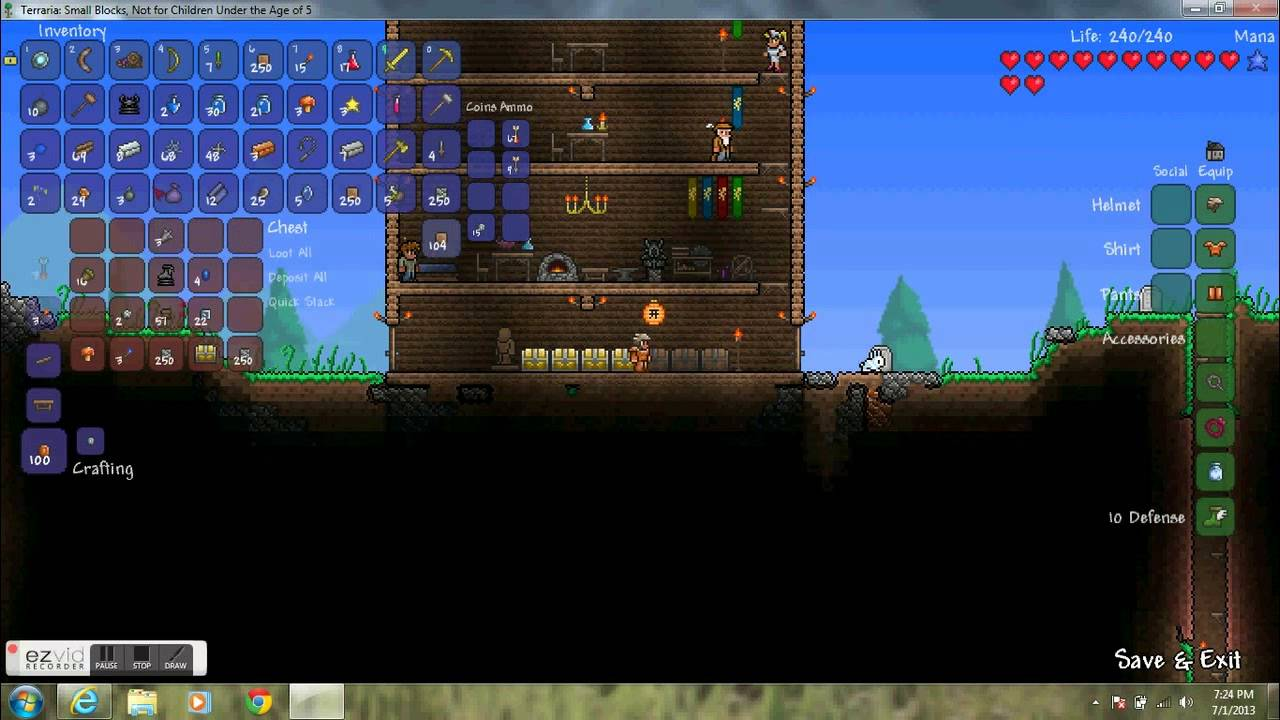 How To Craft Silk In Terraria