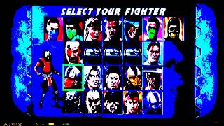 Ultimate Mortal Kombat 3 with visual effects (PS3 gameplay) 12/6/18