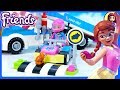 Lego Friends Service & Care Truck Build Silly Play
