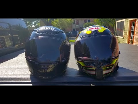 Shoei CWR-1 Transitions Vs Bell Transitions SolFX Photochromic Face Shields