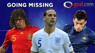 Going Missing - The stars sitting out Euro 2012