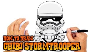 How to Draw Stormtrooper | Star Wars