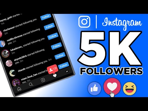HOW TO GET FREE INSTAGRAM FOLLOWERS IN 2020 (Grow From 0 To 5000 Followers FAST!)