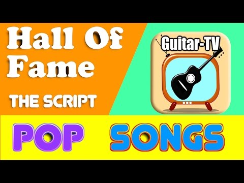Hall Of Fame - The Script, Cover • Lyrics•Chords•Tutorial•Gitarre lernen