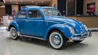 1960 Volkswagen Beetle Rag Top For Sale