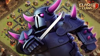 EXERCITO DE PEKKAS CONTRA UM CV11 NO CLASH OF CLANS