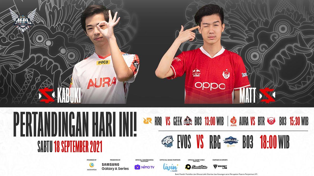 Download MPL ID S8 Regular Season Bahasa | Minggu ke-6 Hari 2 [Bahasa Indonesia]