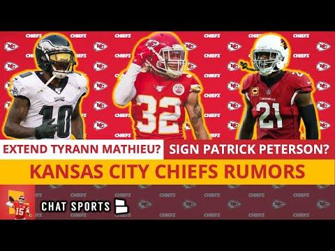 Chiefs Free Agency Rumors On Desean Jackson & Patrick Peterson + Tyrann Mathieu Extension? | Mailbag
