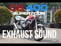 Honda CB400 Indonesia Exhaust Sound