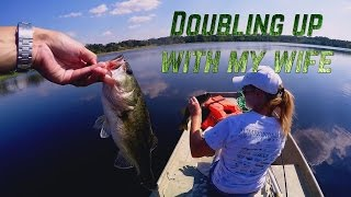 Doubling up with my wife!   AggieBass
