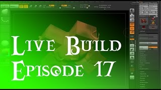 Live Build 17 - Speed Learning zBrush