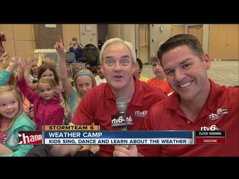 Kids sing, dance, learn about weather in Fishers