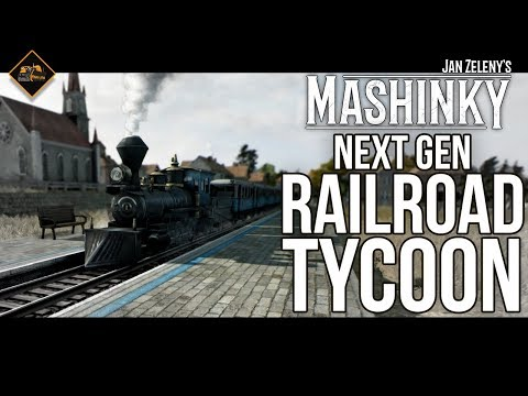 The next generation Railroad Tycoon or OpenTTD? Let's Play Mashinky gameplay series part 1!