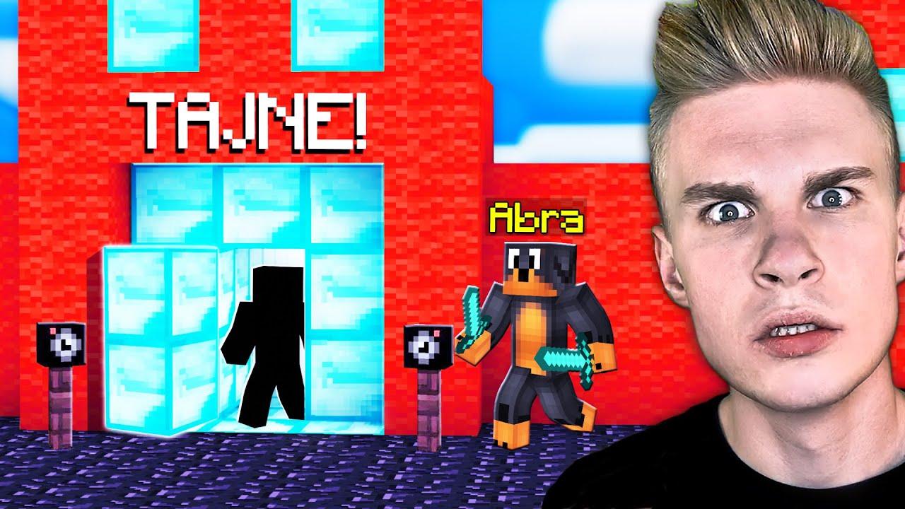 WYRUSZYŁEM w TAJNĄ MISJĘ w Minecraft!