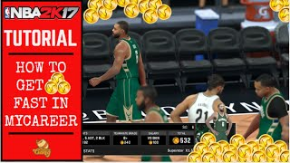 NBA 2K17 Tutorial | How to Get VC FAST in MyCareer!