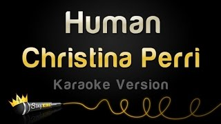 Christina Perri - Human (Karaoke Version)