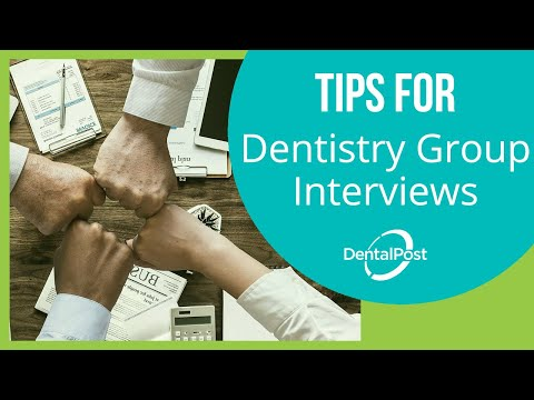 Dentistry Group Interview Tips | DentalPost.net