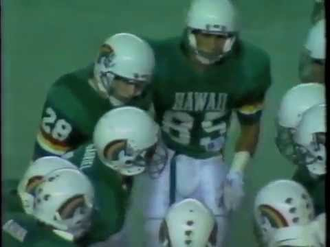 1989 Byu vs Hawaii Football Part 2 Radio Broadcast