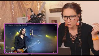 Vocal Coach Reacts to Alter Bridge - Blackbird- live