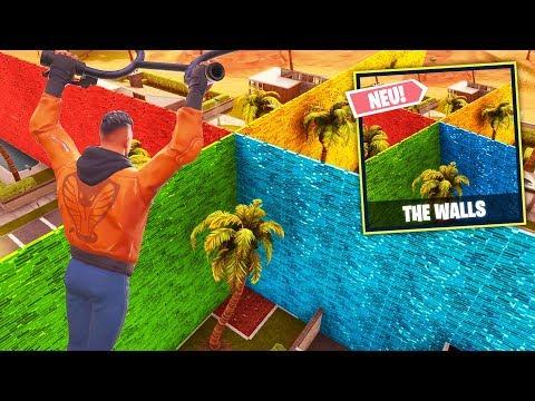 *NEU* THE WALLS Modus in FORTNITE!