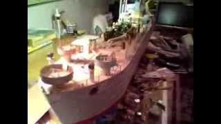 052 Noah's Lst Landing Ship Tank Under Construction