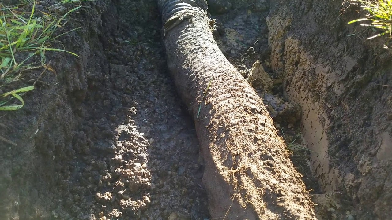 Don't use a drain sleeve / pipe sock with a FRENCH DRAIN in Michigan 2/2